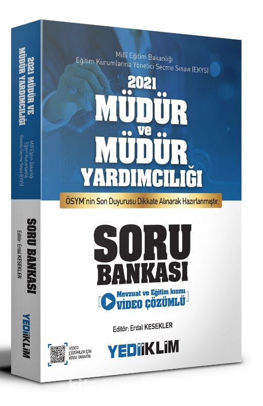 2021 MEB EKYS Müdür ve Müdür Yardımcılığı Soru Bankası PDF Kitap İndir