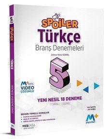 5. Sınıf Spoiler Türkçe Branş Denemeleri PDF Kitap İndir