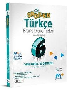 6. Sınıf Spoiler Türkçe Branş Denemeleri PDF Kitap İndir