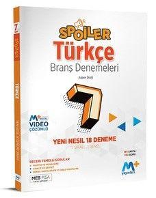 7. Sınıf Spoiler Türkçe Branş Denemeleri PDF Kitap İndir