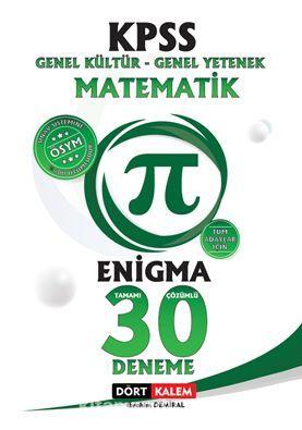 Enigma Tamamı Çözümlü 30 Kpss Matematik Denemesi PDF Kitap İndir
