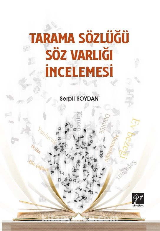 Tarama Sözlüğü Söz Varlığı İncelemesi PDF Kitap İndir