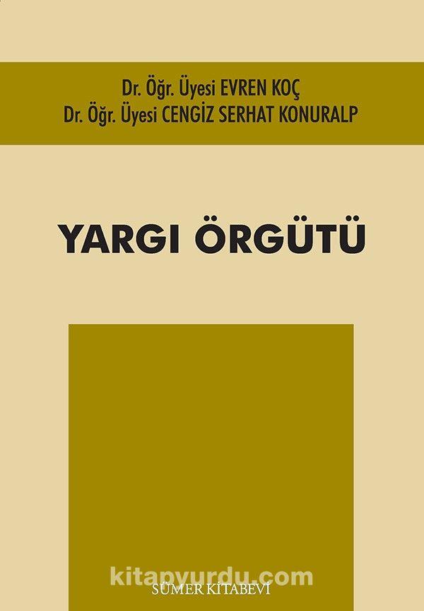 Yargı Örgütü PDF Kitap İndir