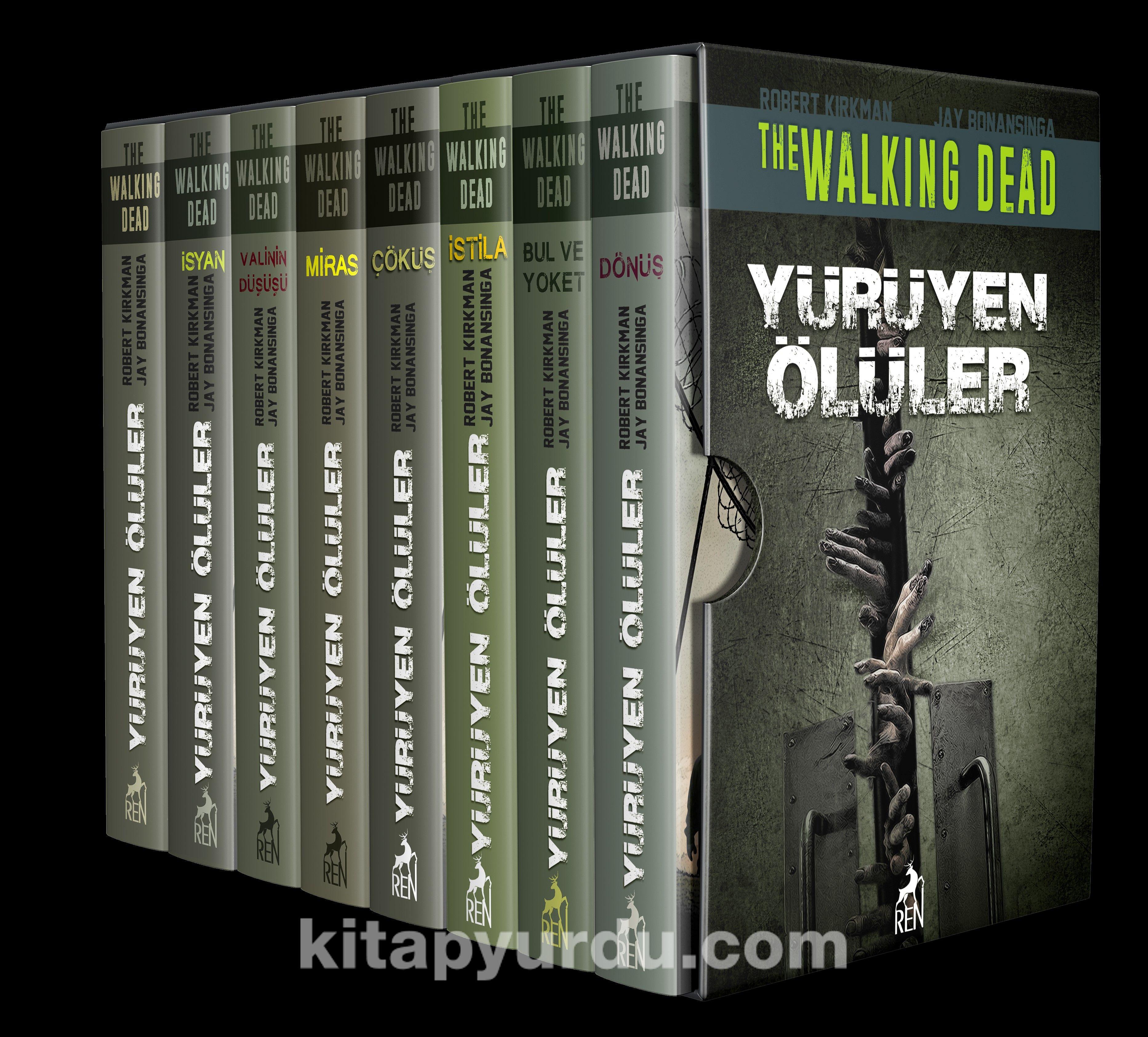 Yürüyen Ölüler Set (8 Kitaplık Kutulu Set) PDF Kitap İndir