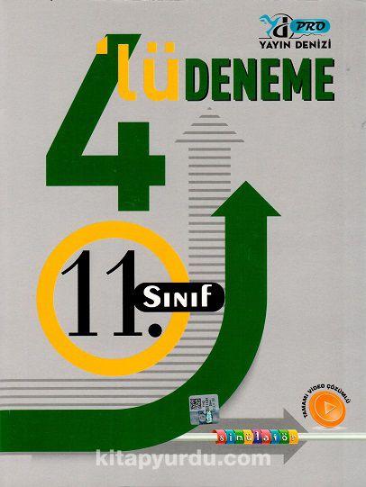 11. Sınıf 4'lü Deneme PDF Kitap İndir