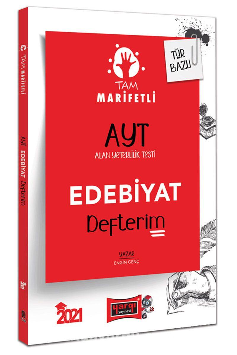 2021 AYT Tam Marifetli Edebiyat Defterim PDF Kitap İndir
