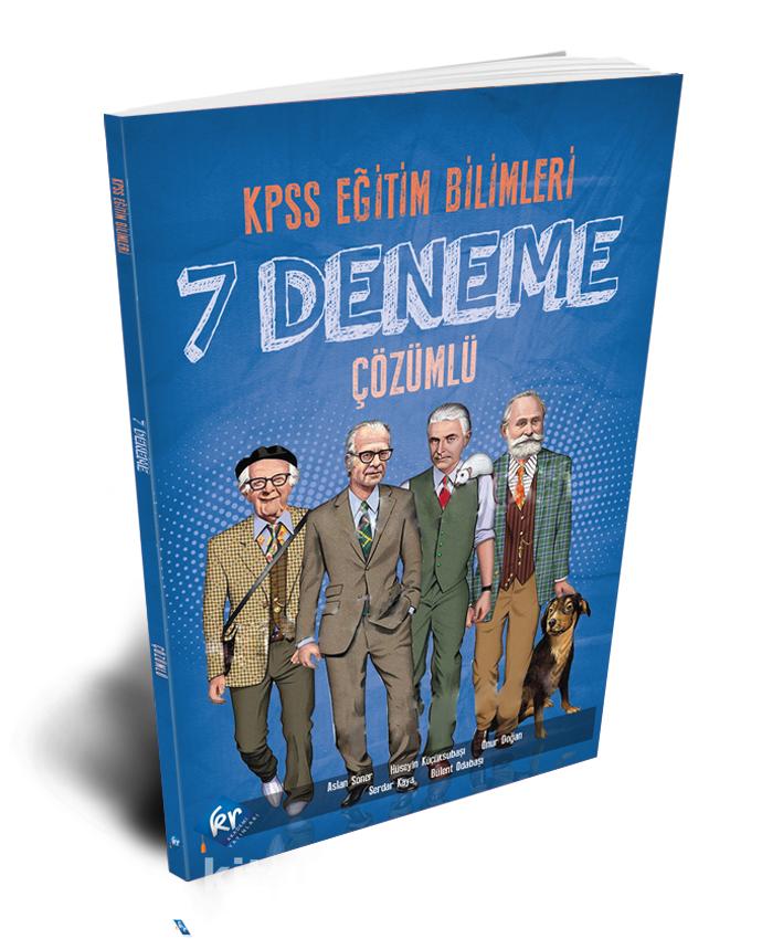 2021 KPSS Eğitim Bilimleri 7 Fasiküllü Deneme PDF Kitap İndir