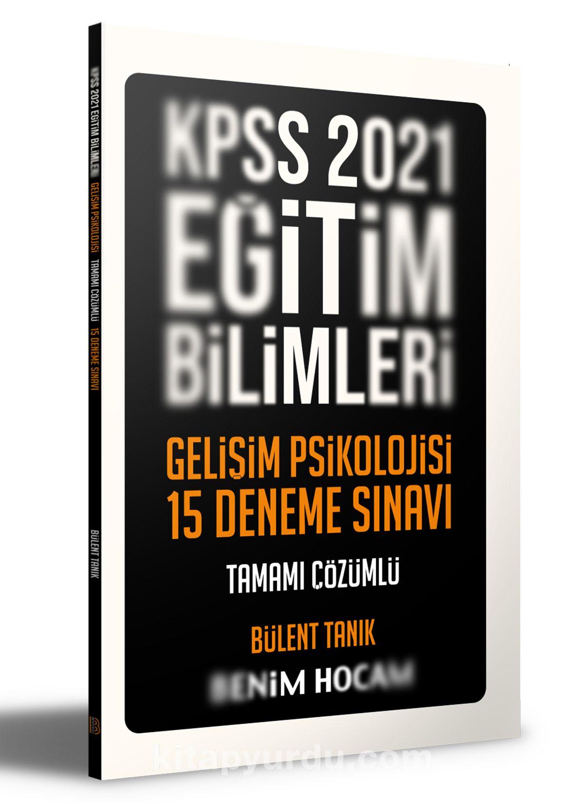 2021 KPSS Eğitim Bilimleri Gelişim Psikolojisi Tamamı Çözümlü 15 Deneme  PDF Kitap İndir