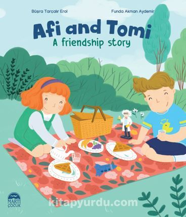 Afi and Tomi / A friendship story PDF Kitap İndir