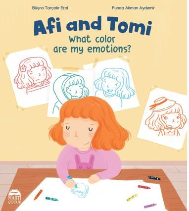 Afi and Tomi / What color are my emotions? PDF Kitap İndir