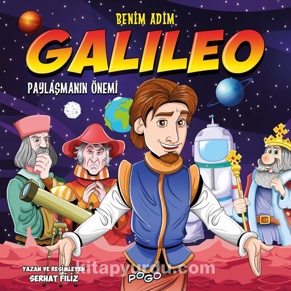 Benim Adım Galileo / Paylaşmanın Önemi PDF Kitap İndir