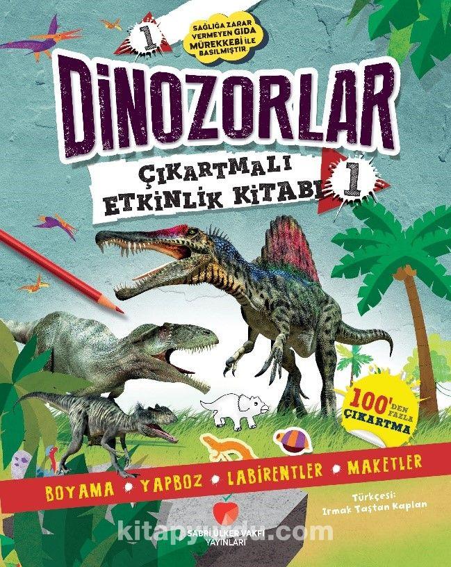 Dinozorlar Çıkartmalı Etkinlik Kitabı 1 PDF Kitap İndir