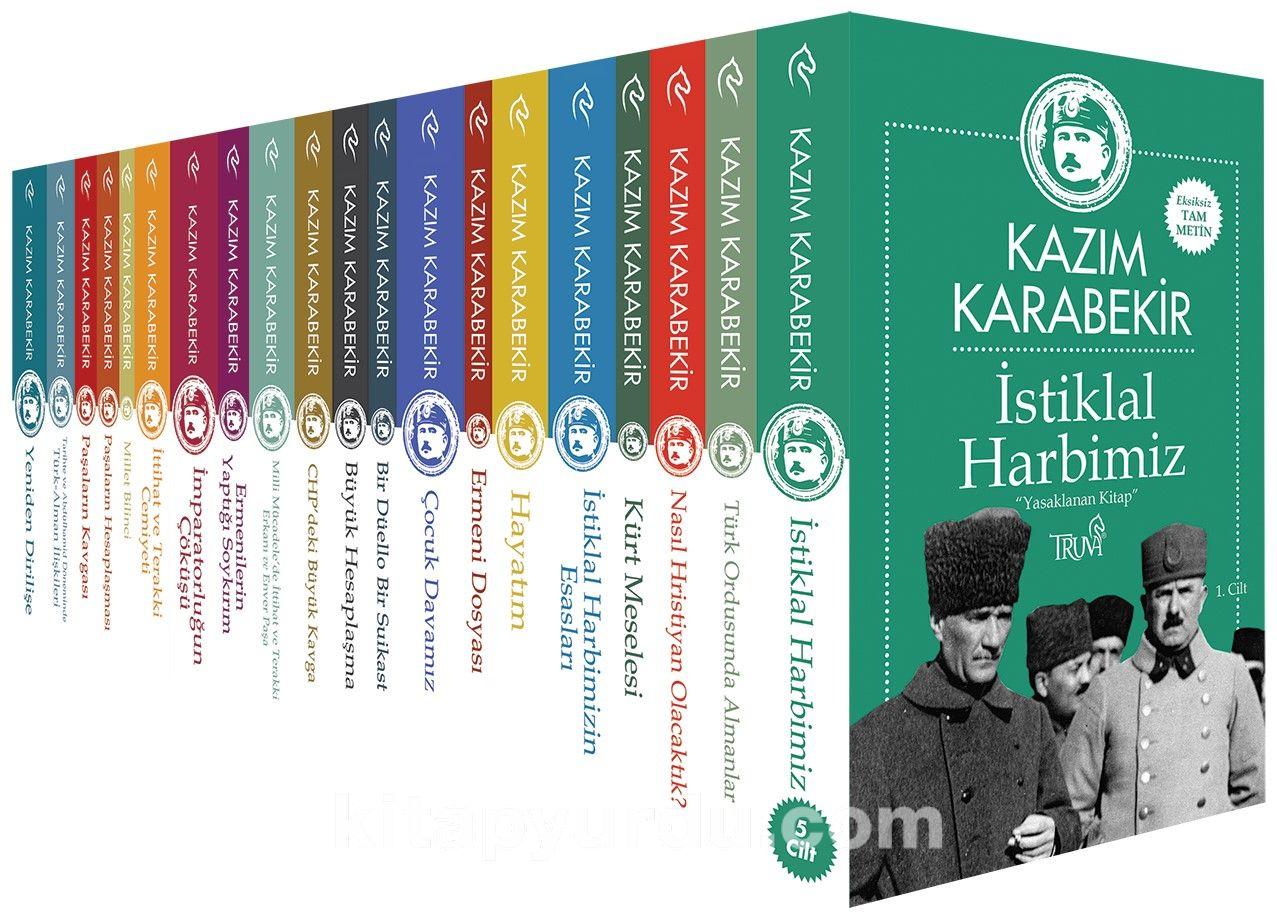 Kazım Karabekir Külliyatı (24 Kitap) PDF Kitap İndir