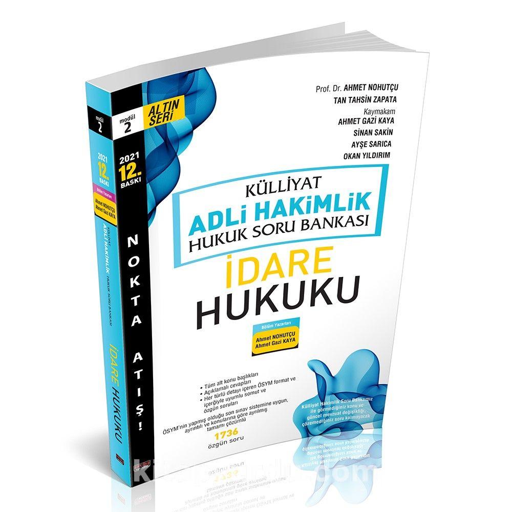 Külliyat İdare Hukuku Soru Bankası Adli Hakimlik PDF Kitap İndir