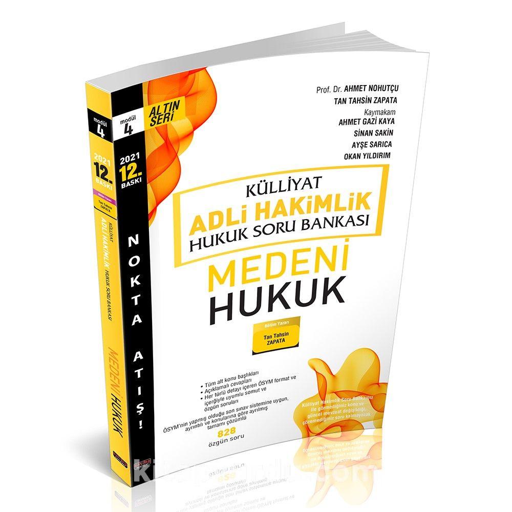 Külliyat Medeni Hukuk Soru Bankası Adli Hakimlik  PDF Kitap İndir
