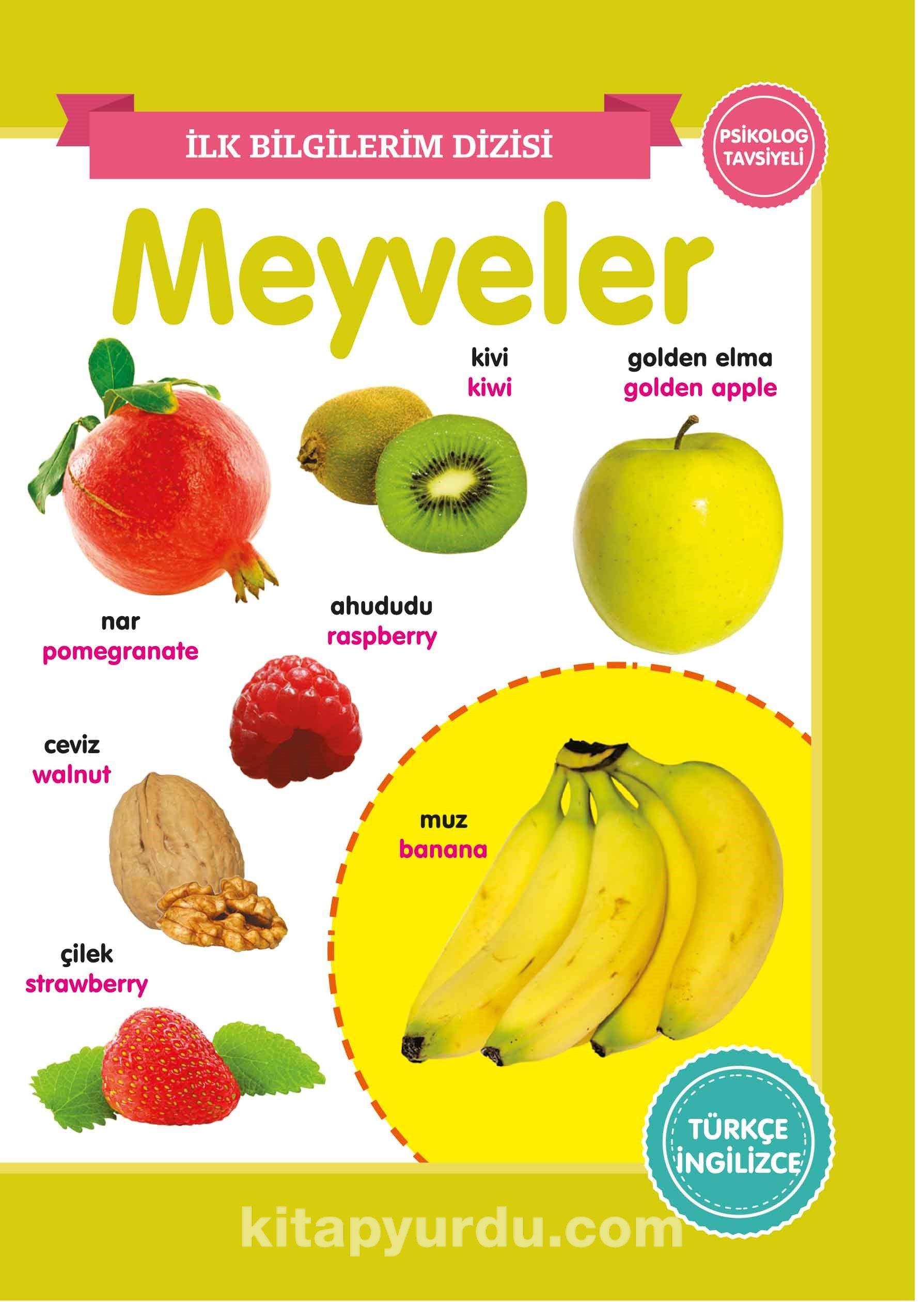 Meyveler / İlk Bilgilerim Dizisi PDF Kitap İndir