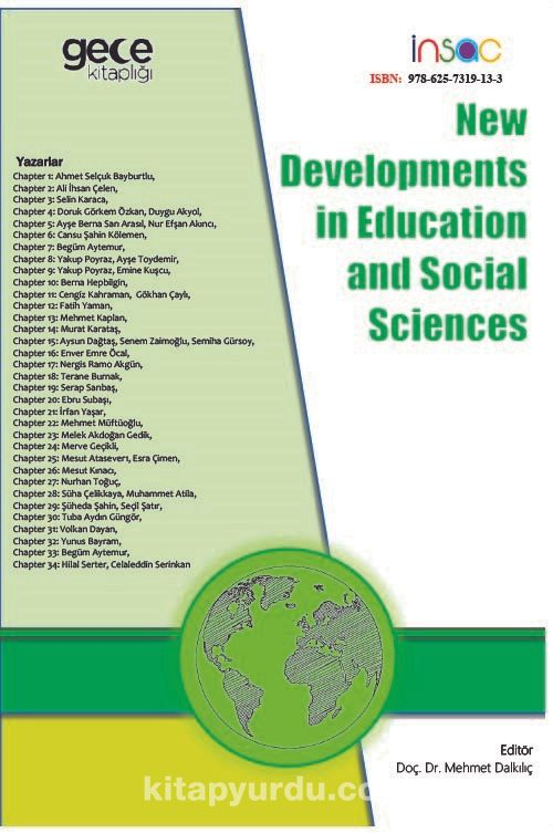 New Developments in Education and Social Sciences PDF Kitap İndir