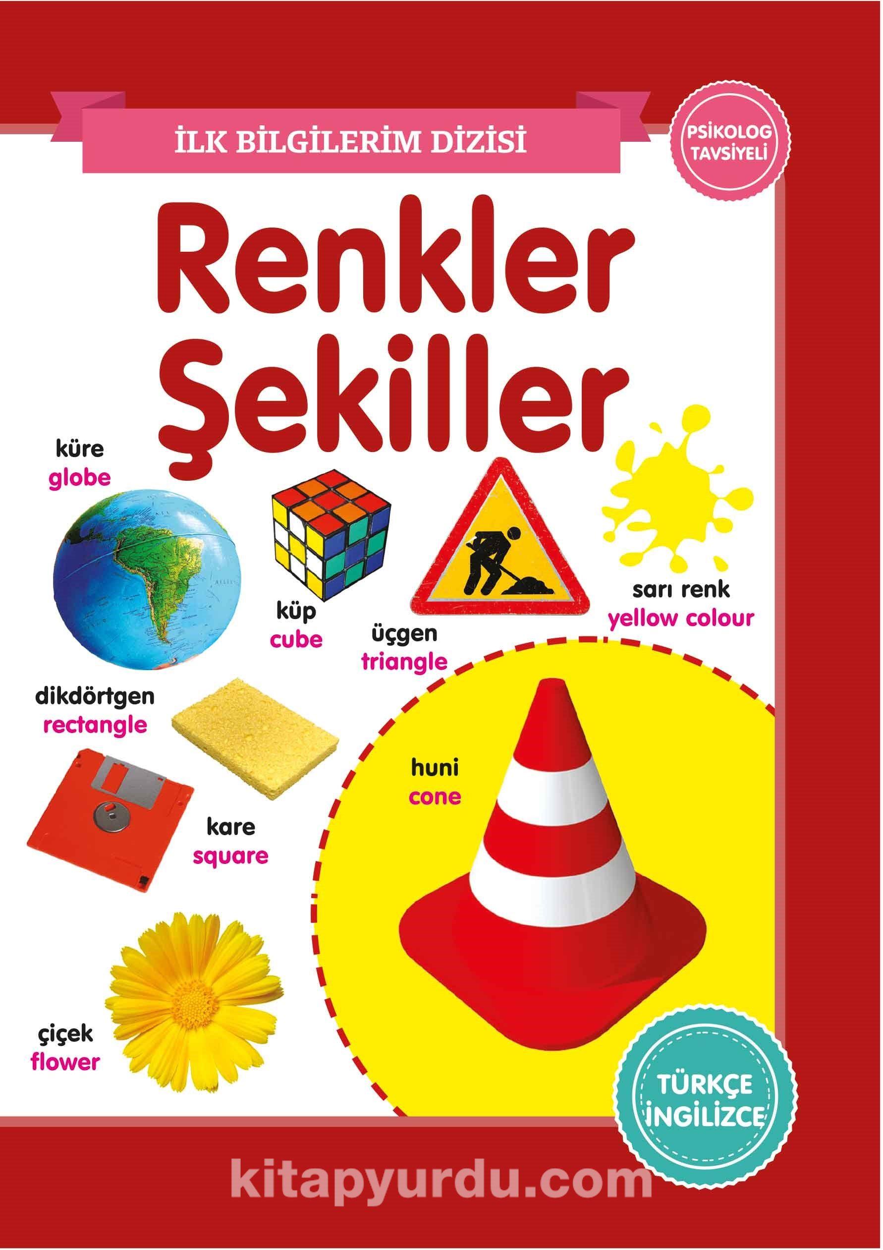 Renkler - Şekiller - İlk Bilgilerim Dizisi PDF Kitap İndir