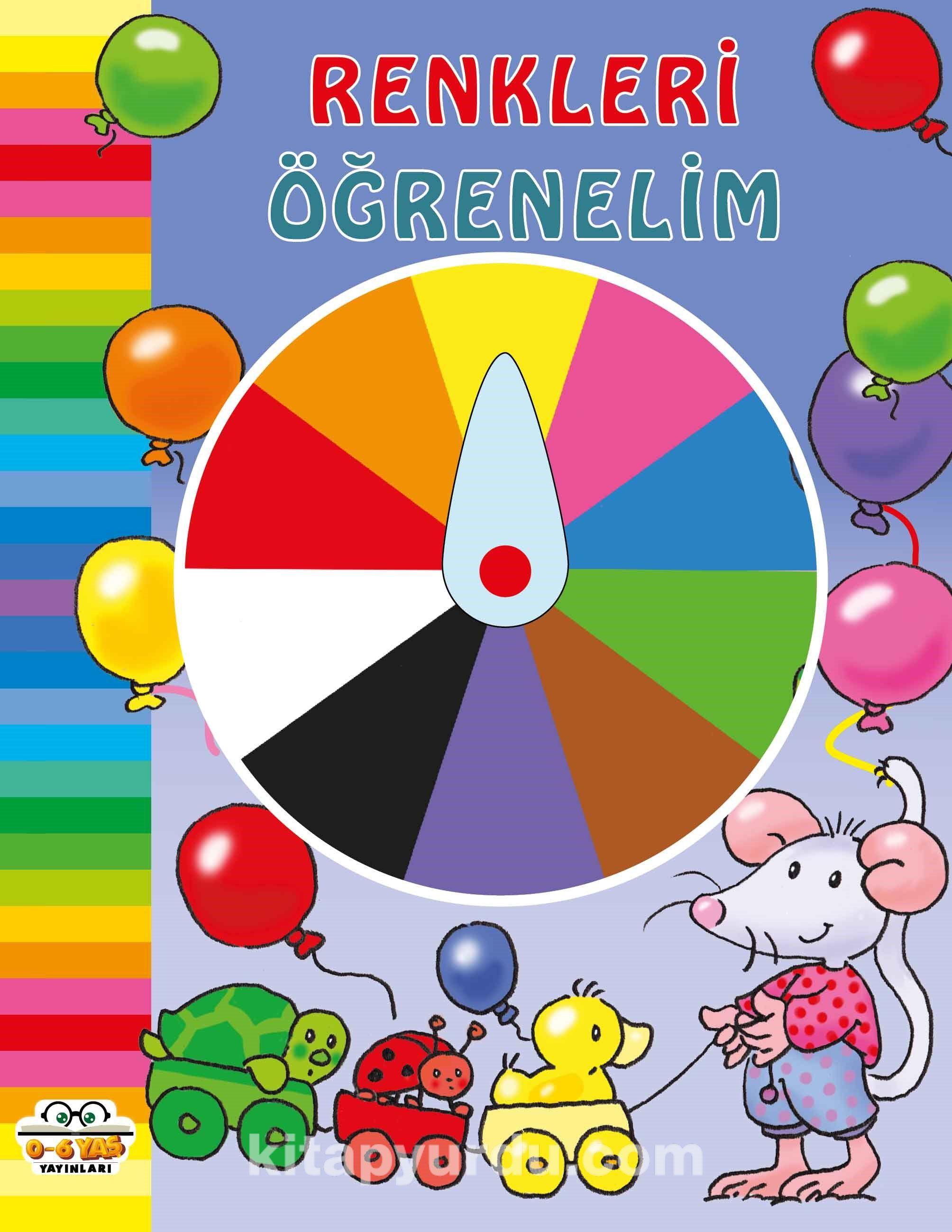 Renkleri Öğrenelim PDF Kitap İndir