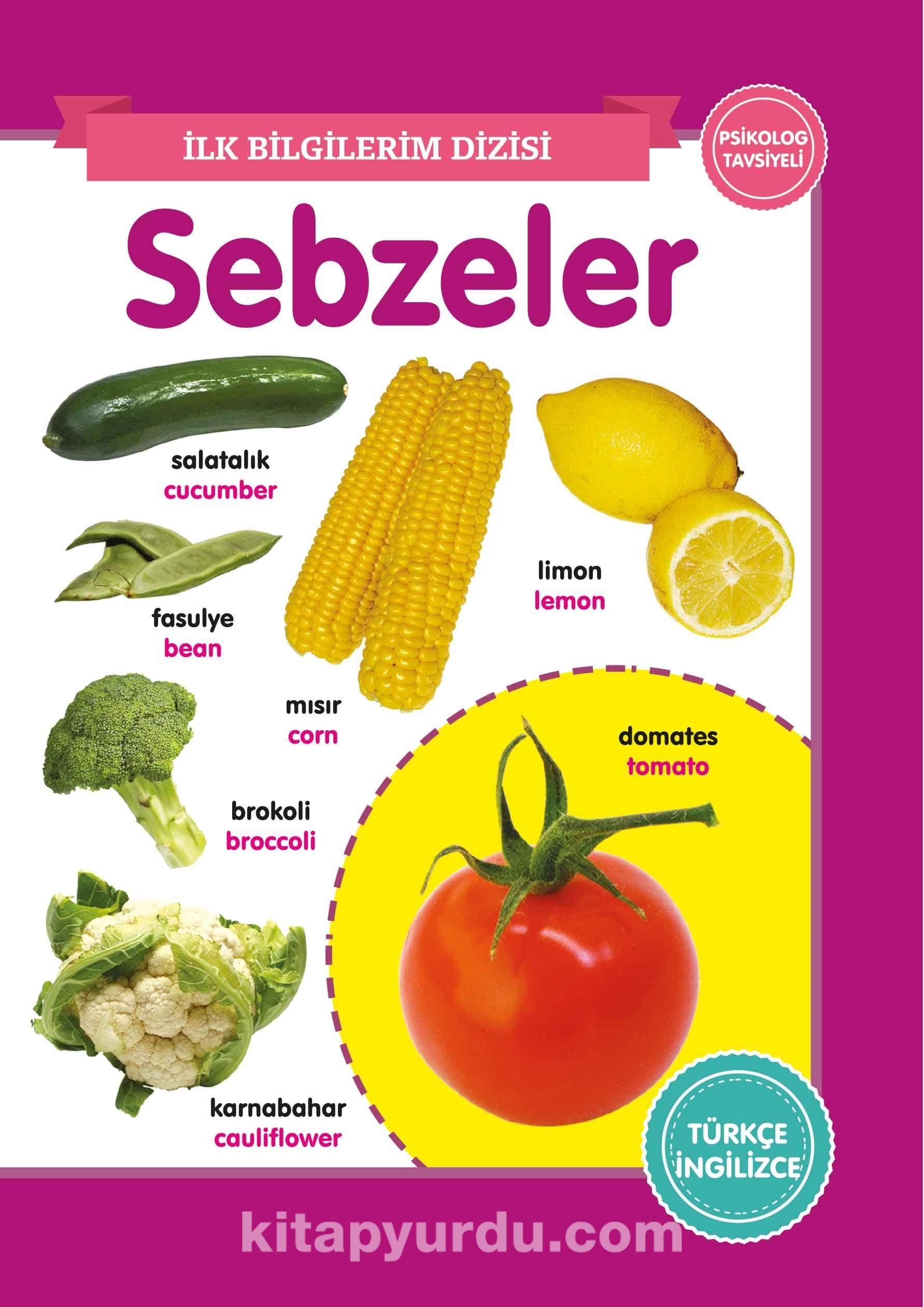 Sebzeler / İlk Bilgilerim Dizisi PDF Kitap İndir