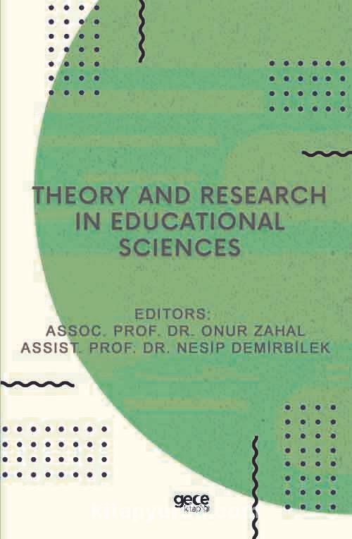 Theory and Research in Educational Sciences PDF Kitap İndir