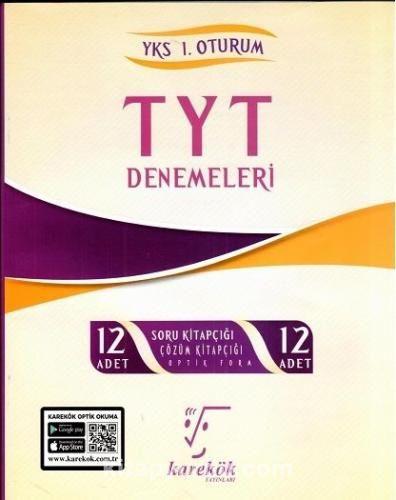 TYT Denemeleri 12 Adet PDF Kitap İndir