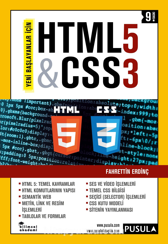 Yeni Başlayanlar İçin HTML5 - CSS3 PDF Kitap İndir
