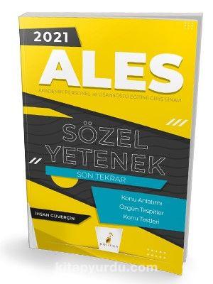 2021 ALES Sözel Yetenek Son Tekrar Konu Anlatımı PDF Kitap İndir