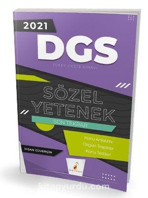 2021 DGS Sözel Yetenek Son Tekrar Konu Anlatımı PDF Kitap İndir