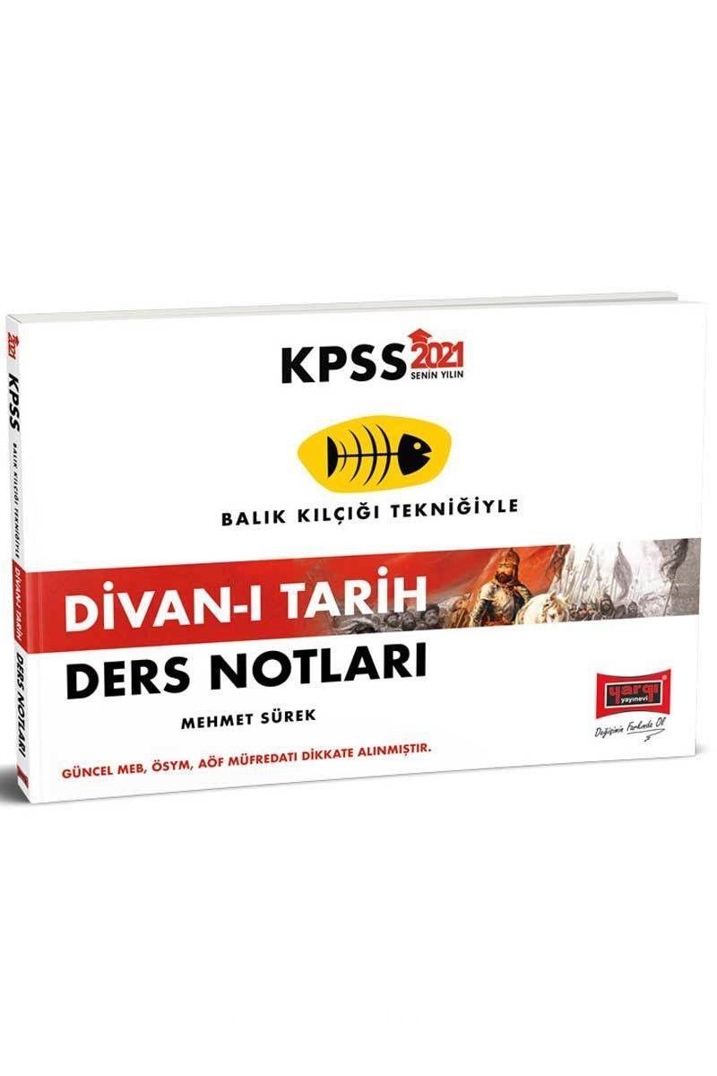 2021 KPSS Divan-ı Tarih Ders Notları PDF Kitap İndir
