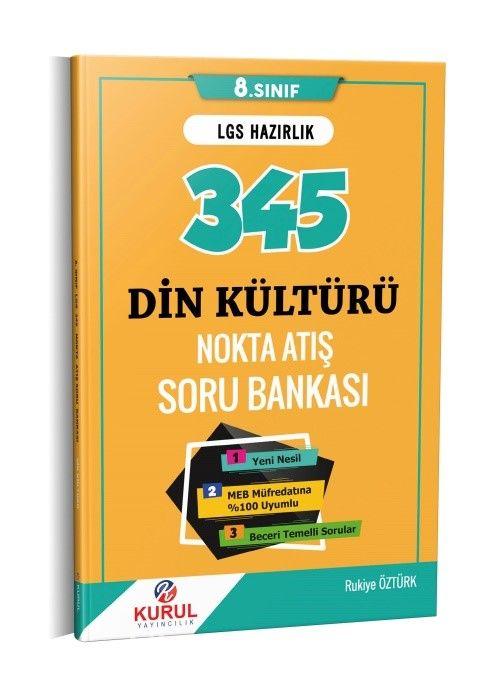 345 LGS Din Kültürü Nokta Atış Soru Bankası  PDF Kitap İndir