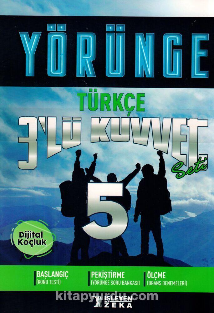 5. Sınıf Türkçe 3'lü Kuvvet Yörünge Serisi Seti (3 Kitap) PDF Kitap İndir