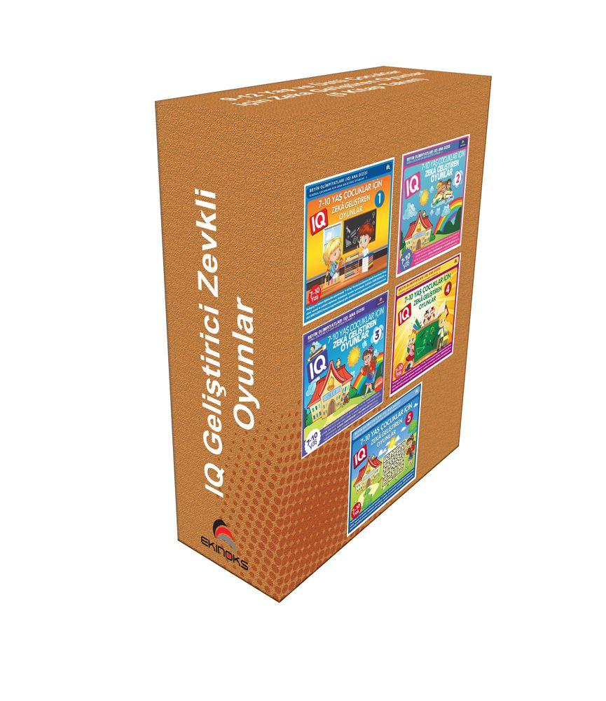 7-10 Yaş ve Üstü Çocuklar İçin Zeka Geliştiren Oyunlar (5 Kitap) PDF Kitap İndir