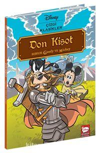 Disney Çizgi Klasikler - Don Kişot Başrolde: Goofy ve Mickey PDF Kitap İndir