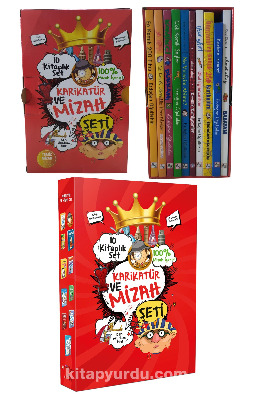 Karikatür ve Mizah Seti (10 Kitap) PDF Kitap İndir