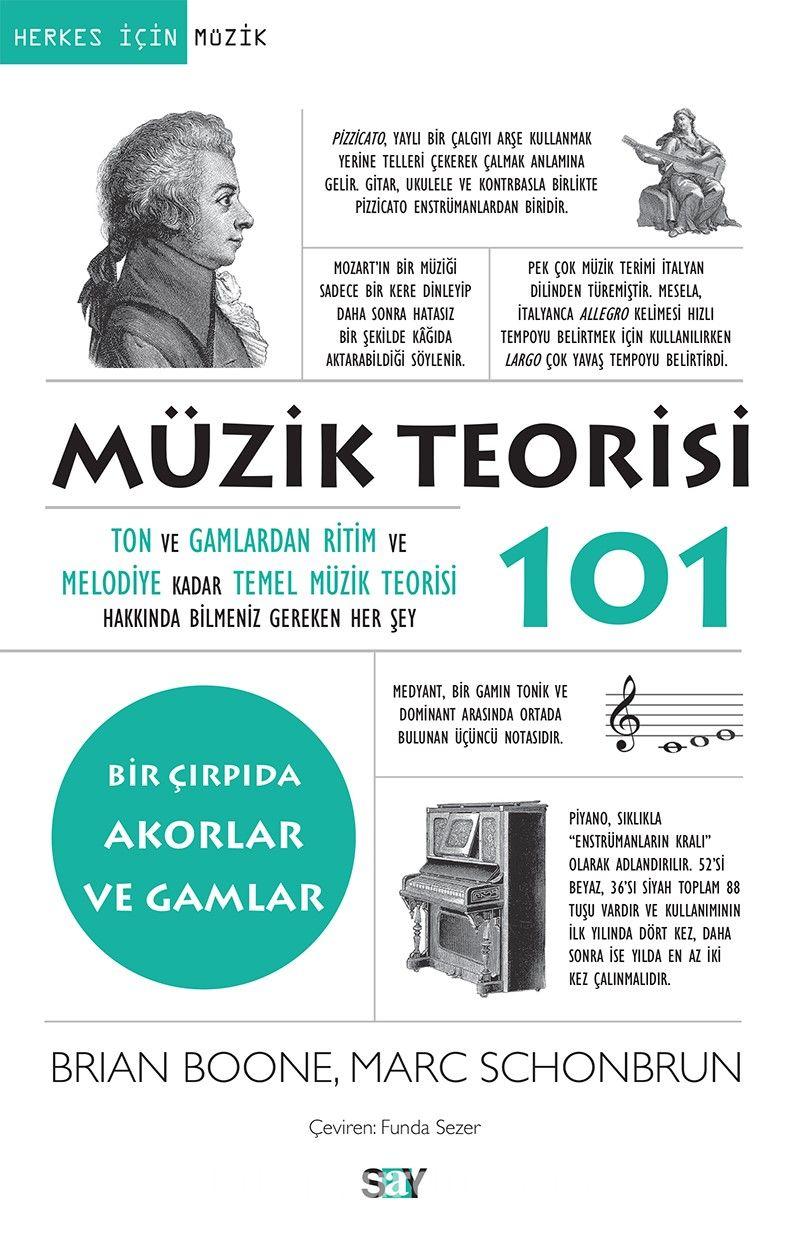 Müzik Teorisi 101 / Bir Çırpıda Akorlar ve Gamlar PDF Kitap İndir