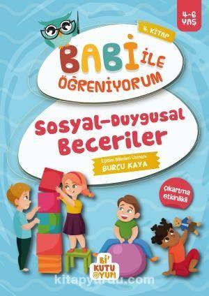 Sosyal – Duygusal Beceriler / Babi İle Öğreniyorum 4. Kitap (4-6 Yaş) PDF Kitap İndir