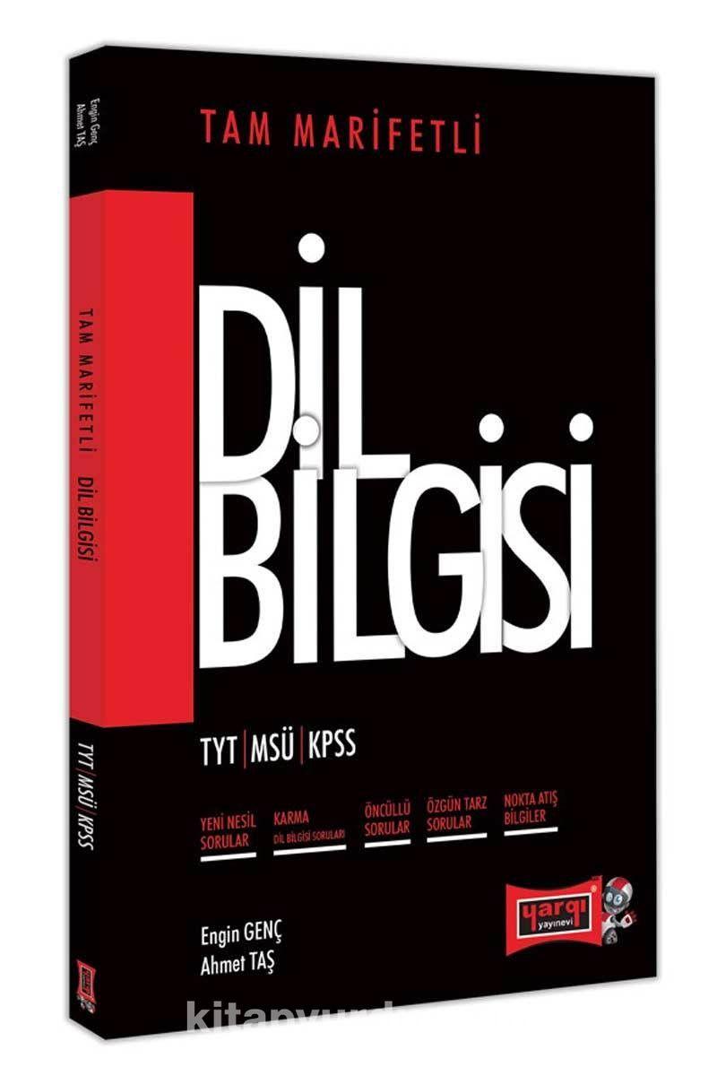 TYT MSÜ KPSS İçin Tam Marifetli Dil Bilgisi Soru Bankası PDF Kitap İndir