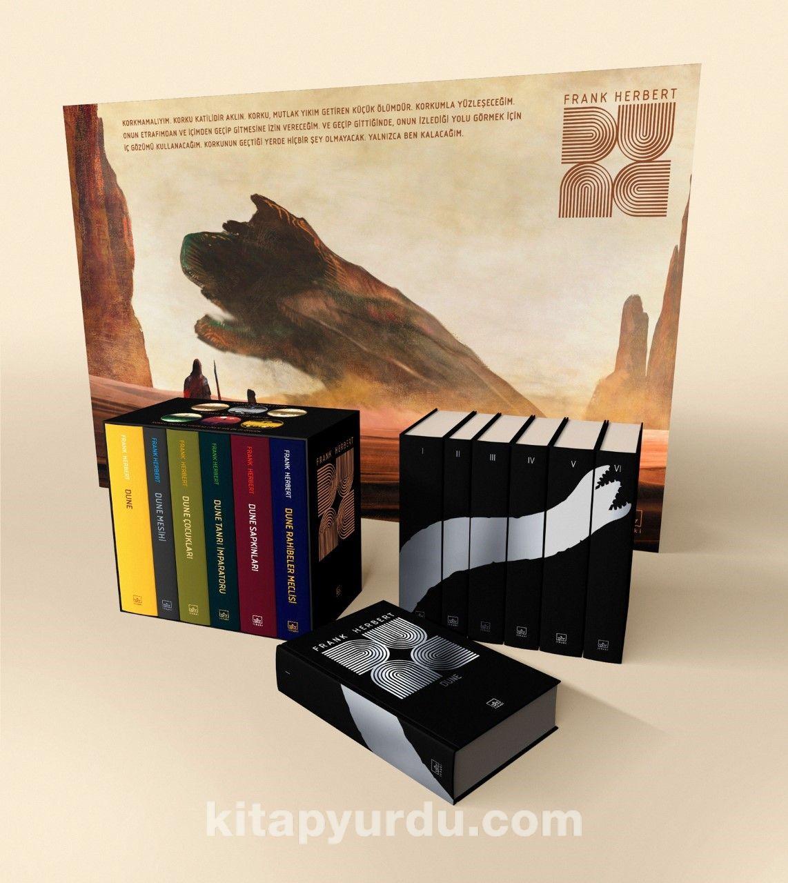 Dune (Ciltli Kutu Set) PDF Kitap İndir