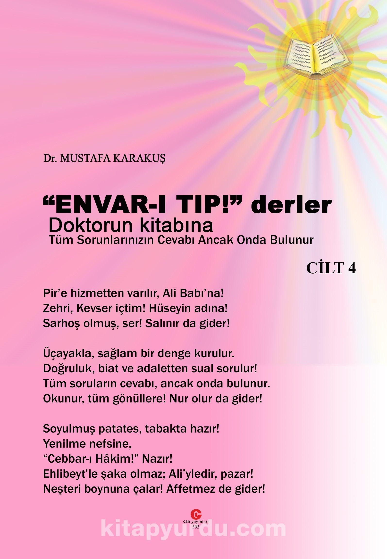 Envar-ı Tıp ! Derler Doktorun Kitabına (Cilt 4) PDF Kitap İndir