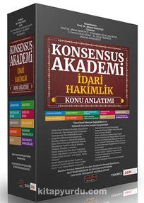 Konsensus Akademi İdari Hakimlik Konu Anlatımlı Set PDF Kitap İndir