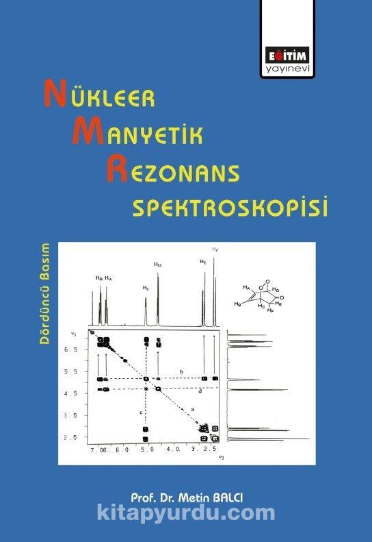 Nükleer Manyetik Rezonans Spektroskopisi PDF Kitap İndir