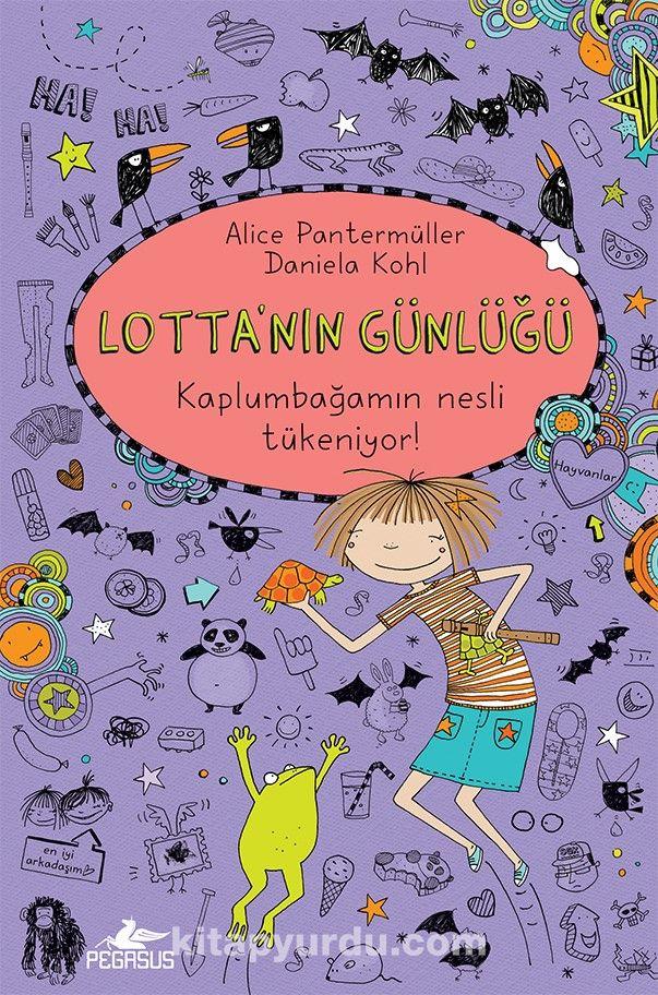 Lotta'nın Günlüğü 5: Kaplumbağamın Nesli Tükeniyor! (Ciltli) PDF Kitap İndir