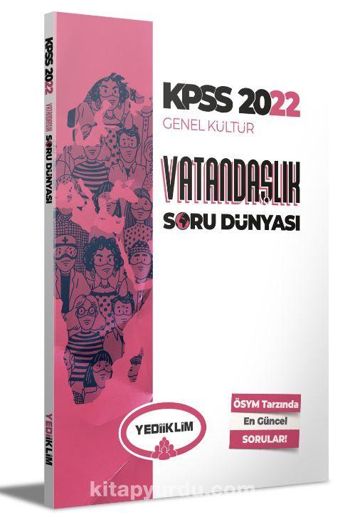 2022 KPSS Genel Kültür Vatandaşlık Soru Dünyası PDF Kitap İndir
