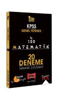 2022 KPSS Genel Yetenek %100 Matematik Tamamı Çözümlü 20 Deneme PDF Kitap İndir