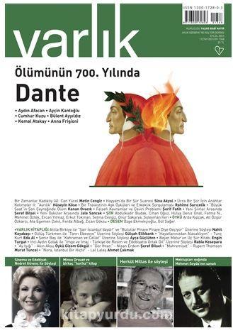 Varlık Edebiyat ve Kültür Dergisi Sayı: 1368 Eylül 2021 PDF Kitap İndir