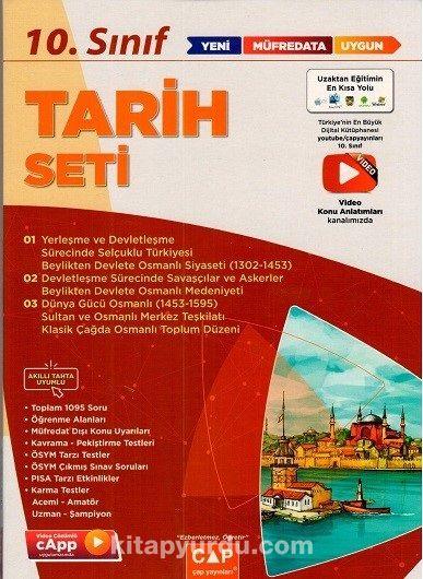 10. Sınıf Tarih Anadolu Seti PDF Kitap İndir