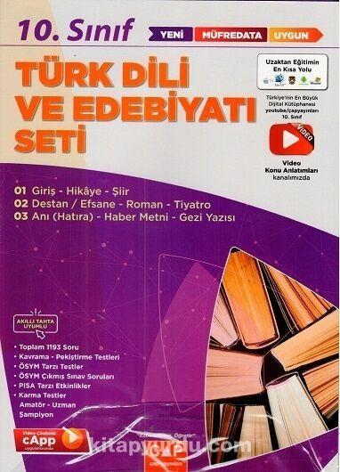 10. Sınıf Türk Dili ve Edebiyatı Anadolu Seti PDF Kitap İndir