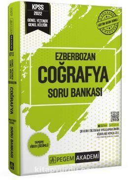 2022 Genel Yetenek Genel Kültür Ezberbozan Coğrafya Soru Bankası PDF Kitap İndir