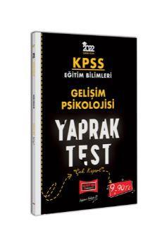 2022 KPSS Eğitim Bilimleri Gelişim Psikolojisi Yaprak Test PDF Kitap İndir